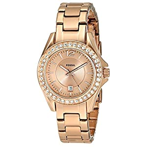 Fossil End-of-season Analog Gold Dial Women's Watch - ES2889