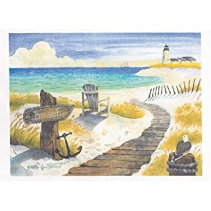Diane Adams Collection 8702 Coastal Framed Artwork
