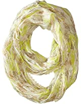 Betsey Johnson Women's Bed Of Roses Infinity Neutral Scarf One Size