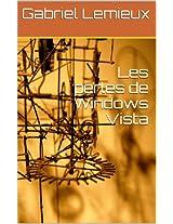 Les perles de Windows Vista