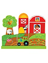 Stephen Joseph Farm Wooden Stacking Set