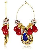 Ava Hoops Earrings for Women (Golden) (E-SD-JB2)