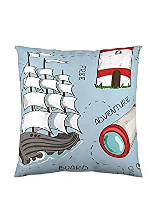 EUROMODA HOME LIVING Fodera Cuscino Sailboat