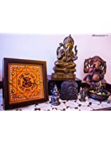 Footprints Forever Ganesha Clock