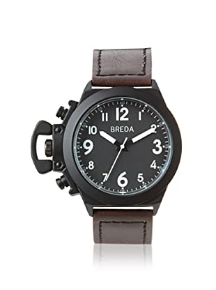 Breda Men's 8170 James Brown/Black Alloy Watch