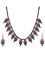 Scorched Earth Rosby Terracotta Multi pendant set, SES0902