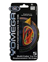 Yomega YoYo Replacement String, Multi Color