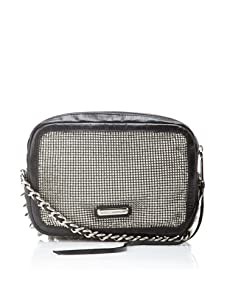 Rebecca Minkoff Women's Jess Clutch with Chain, Silver
