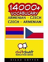 14000+ Armenian - Czech, Czech - Armenian Vocabulary
