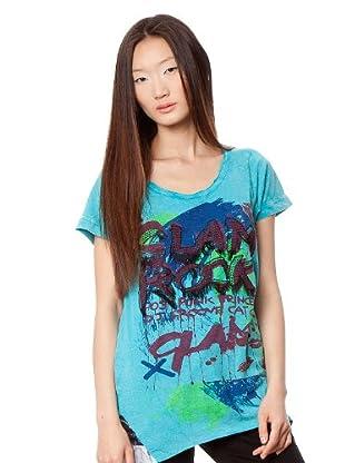 Custo Camiseta (Turquesa)