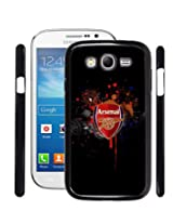 Fuson 2D Printed Arsenal Logo Designer Back Case Cover for Samsung galaxy Grand Neo - D804
