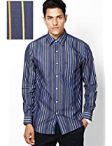 Blue Sport Fit Casual Shirt Allen Solly