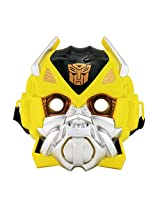 Bumblebee Transformer LED Lights Mask Superhero Camouflage Face Cosplay Party