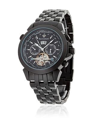 Yves Camani Reloj Worldtimer Automático Negro