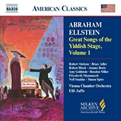 Milken Arch American Jewish Music: Grt Songs of 1