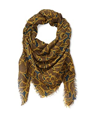 Moio Women's Cure Bac Square Scarf (Ocean)