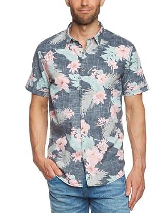 Tom Tailor Camisa Marghera (Azul)