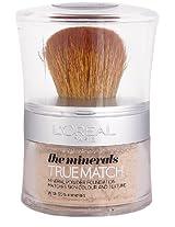 L'Oreal Paris True Match Mineral Powder Foundation, W1 Golden Ivory Mattifying