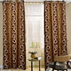 Handloomhub-Stylish cofee curtain(4x7ft)