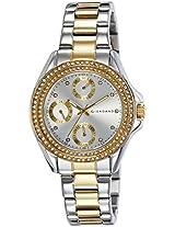 Giordano Analog Silver Dial Women's Watch - A2035-22