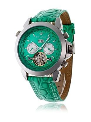 Yves Camani Reloj Worldtimer Automático Verde / Plata