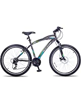 Hero Sprint 26T Icon 21 Speed Adult Cycle (Grey)