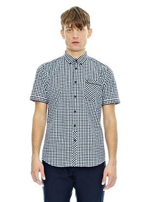 Merc Camicia Hiram (Blu Navy)