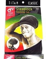 Titan Classic Dreadlock Stocking Cap #22136 [Black]