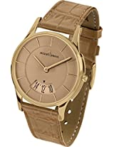 Jacques Lemans Analog Beige Dial Women's Watch - 1-1747F