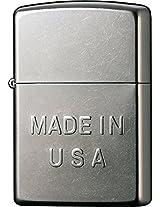 Zippo Made in USA Embossed Pocket Lighter