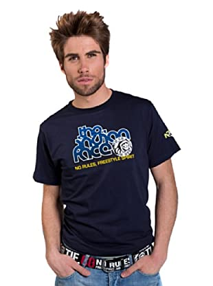 The Indian Face Camiseta Logo (Azul Marino)