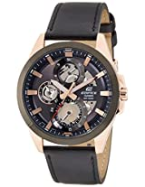 Casio Edifice Analog Black Dial Men's Watch - ESK-300GL-1AVUDF(EX287)