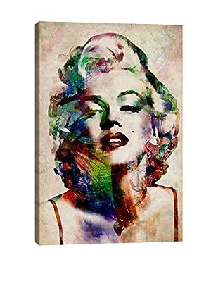Michael Tompsett Watercolor Marilyn Monroe Giclée on Canvas