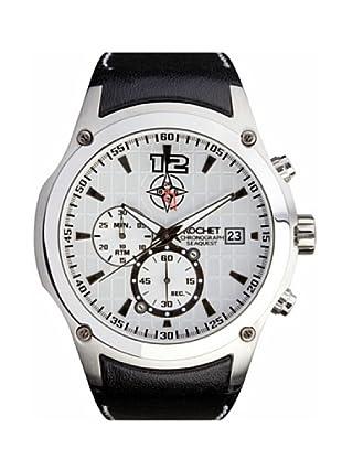 Rochet W303025 - Reloj de Caballero movimiento cuarzo con correa de piel Negro
