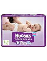 Huggies Wonder Pants Small - 18 Pcs (4 - 8 Kgs)