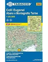 Colli Euganei 060 Abano e Montegrotto Terme GPS 2014: TAB.060