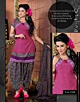 Variation Pink Party Wear Dress For Women
