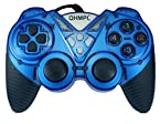 Quantum Turbo Double Vibration Game Pad (Blue)