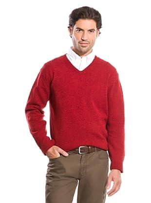 Cortefiel Jersey Pico (Rojo)