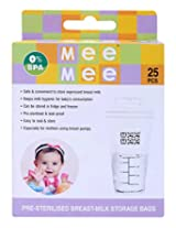 Mee Mee Milk Storage Bag - 25 Pieces