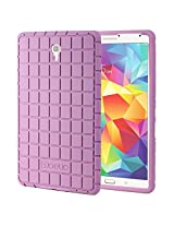 Samsung Galaxy Tab S 8.4 Case - Poetic Samsung Galaxy Tab S 8.4 Case GraphGRIP Series - Lightweight GRIP Protective Silicone Case for Samsung Galaxy Tab S 8.4 Lavender (3 Year Manufacturer Warranty From Poetic)
