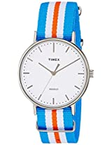 Timex Weekender Fairfield Analog White Dial Unisex Watch - TW2P91100AA
