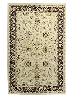 Bashian Rugs One-of-a-Kind Hand Knotted Mansehra Rug, Ivory, 5' 9