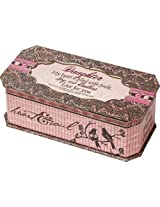 Cottage Garden Daughter Pink Belle Papier Music Box / Jewelry Box Plays Amazing Grace