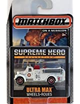 Matchbox Limited Edition Supreme Heroes Collection - 1963 Mack B Fire Truck (White)
