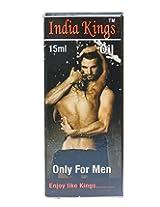 India Kings Oil - Penis Massage, Sex Oil, Aphrodisiac, lubrication, Penis Oil, PE, ED, Erectile Dysfunction, Enlargement, Male Oil, Ayurvedic Medicines, Sex Medicine