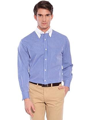 Hackett Camicia Quadri (Blu/Bianco)