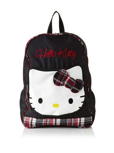 Hello Kitty Mad For Plaid Backpack