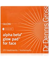 Dr Dennis Gross Alpha Beta Glow Pad for Face Packets, 20 Towelletes