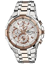 Casio Edifice Chronograph White Dial Men's Watch - EFR-539SG-7A5VUDF(EX222)